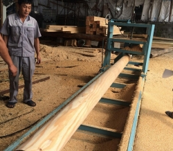 圆木加工厂